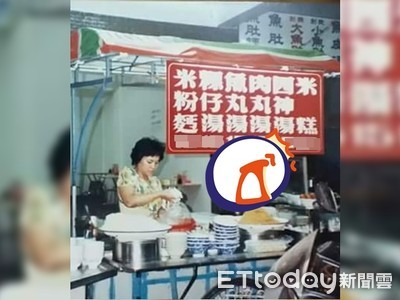 台南35年前小吃攤照曝光!紅牌價目表嚇壞網