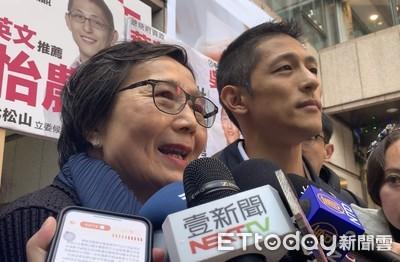 葉菊蘭力挺吳怡農:讓台灣自由民主得到延續