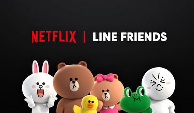 Netflix攜手LINE推出原創動畫