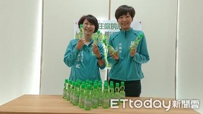 陳亭妃推Love Taiwan限量版彈珠汽水