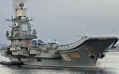 俄唯一現役航母著火 6人傷重