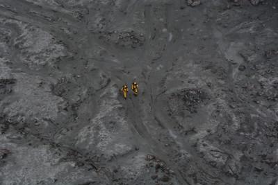 救援登島畫面曝 紐國明重啟潛水任務