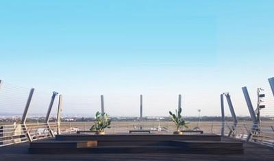 桃機第二航廈戶外觀景台12/14起開放