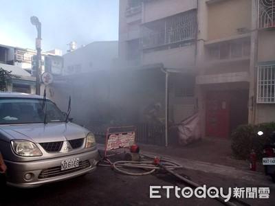 台南市東區林森路火警1人死亡