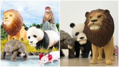 醜得超可愛!日本推出搞笑轉蛋「暴牙動物」系列 全長出巨大暴牙