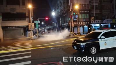 台南爆裂物嫌犯對峙逾12小時 「放下遙控器」警2度駁火射催淚彈