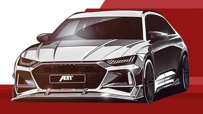 爆改奧迪「最強旅行車」更兇殘!ABT釋出全新RS6-R預告照