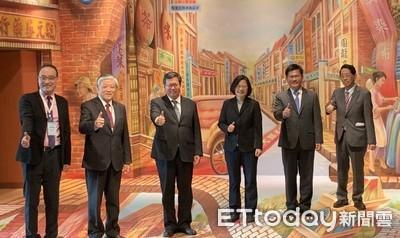 桃機戶外觀景台登場 蔡總統:新台灣印象