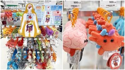 什麼器官都有!日本推出獵奇「人體器官吊飾」 大腦、子宮都能買回家