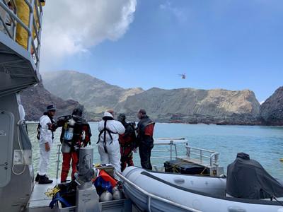 紐西蘭明登島搜索 16日默哀一分鐘