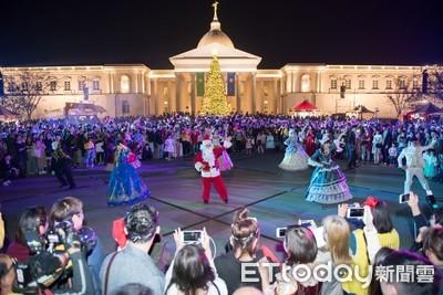 奇美皇家聖誕市集連續熱鬧兩週末