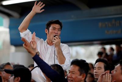 對抗軍政府 泰國5年來最大示威