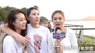 韓國瑜回防高雄 「挺韓三妹」來了