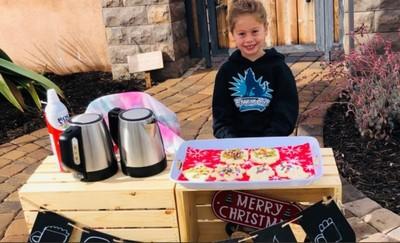 5歲童暖心義賣 讓123人有營養午餐