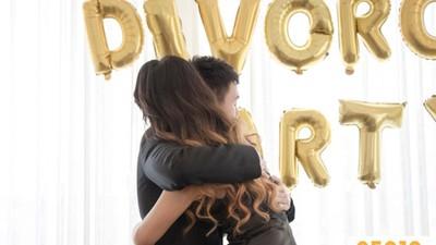 結婚十周年用「離婚典禮」畫下句點!親友、律師見證簽字 場面比婚禮還溫馨