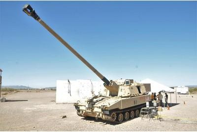 美軍9公尺砲管新型自走砲XM1299照片曝光
