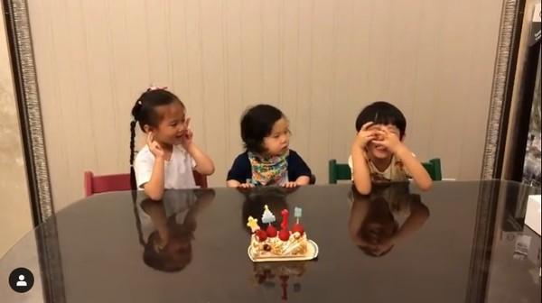 ▲隋棠小兒子Olie慶1歲生日。(圖/翻攝自Tony Instagram)