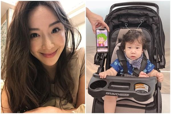 ▲隋棠小兒子Olie慶1歲生日。(圖/翻攝自隋棠 Instagram)