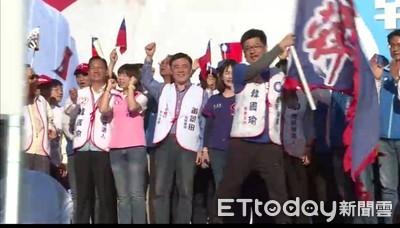 韓國瑜斷旗事件 謝典林:斷棒全壘打一定贏