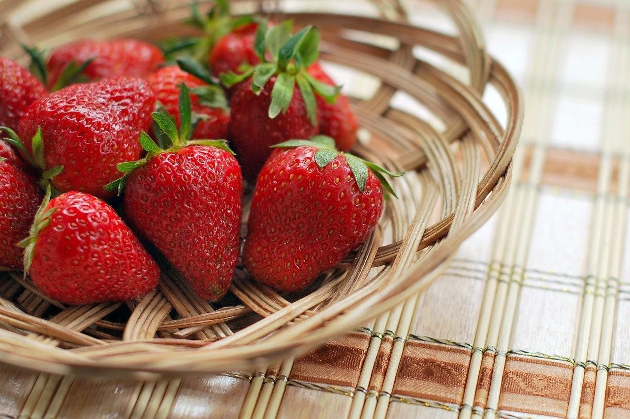 草莓。(圖/Pixabay)