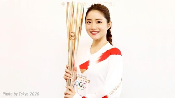 ▲▼石原聰美為2020東京奧運聖火形象大使。(圖/翻攝自推特/東京2020聖火傳遞官方推特)