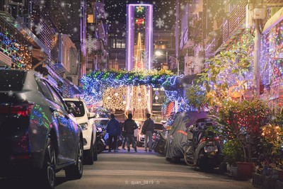 「北投聖誕巷」迎來最溫馨時刻!