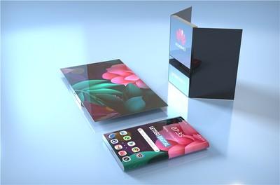 華為新型折疊手機專利曝光! 雙螢幕加折疊可變成平板