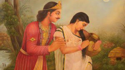 孔雀女愛上國王!古印度愛情傳奇《沙恭達羅》 改編前是超渣男故事