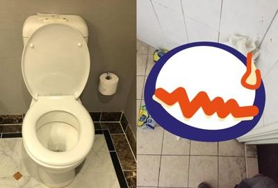 初訪女友家!他廁所見「滿山戰果」無助了