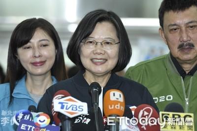 韓國瑜再稱政見被抄襲 蔡英文:代表他不了解國家在做什麼!早就在做了