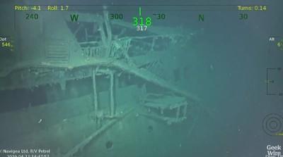 4300人亡最恐怖船難 殘骸找到了