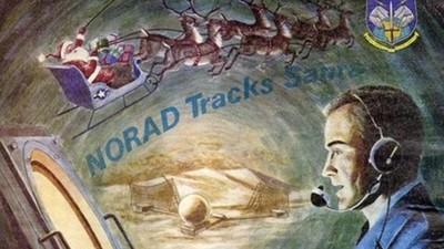駕著雪橇飛到哪了?北美防空部「追蹤聖誕老人」 背景故事超溫馨
