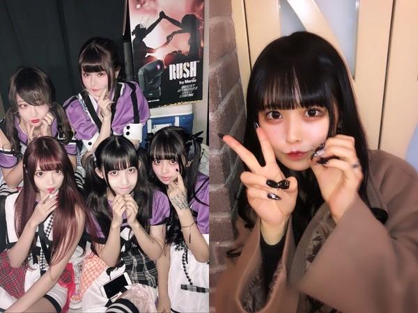 ▲▼兎凪沙耶香4個月前被拍到喝酒抽菸,當時19歲。(圖/翻攝自推特)