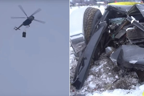 ▲▼俄羅斯網紅砸爛休旅車。(圖/翻攝自YouTube)