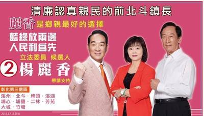 楊麗香參選 國民黨開除黨籍