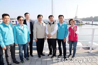 中央力挺安平遊艇休憩碼頭開發