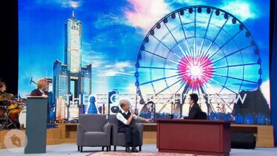 韓國瑜保證會蓋愛情摩天輪…同意讓他賣玩偶