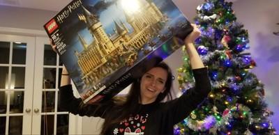 她收全球首富聖誕禮 重達37公斤