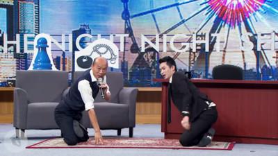上博恩夜夜秀大方自嘲 從「韓國瑜珈走路」分析吸粉戰略:低姿態先贏一半