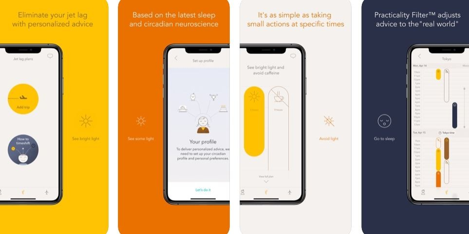 ▲調時差 APP。(圖/翻攝自App Store/Timeshifter - The Jet Lag App)