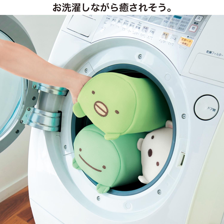 ▲角落小夥伴洗衣袋。(圖/翻攝自bellemaison.jp)