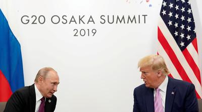 美情報阻止俄國恐攻 普丁感謝川普