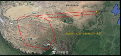 西藏空域封鎖!網推測:太原試射西藏攔截