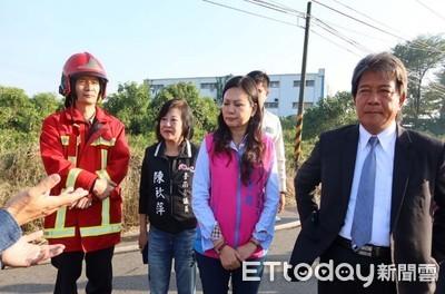 消防局澄清議長郭信良等人並未影響救災