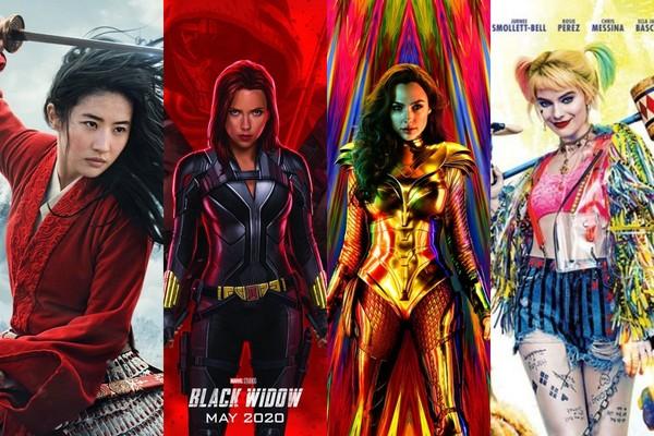 """2020年最期待的10部最電影:女性權力時代!""""神奇女人超人1984年"""",""""花玉蘭""""和""""黑寡婦""""接力"""