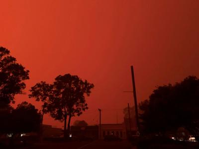 澳洲野火狂燒「毀掉上千人跨年」 急搬海邊避難