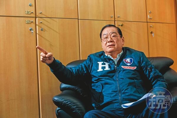 曾永權認為,韓流已重現,民心思變將會是這次藍營選戰逆轉的關鍵。