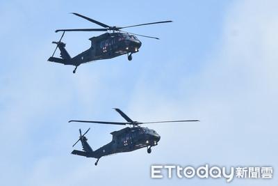 快訊/內政部全面安檢空勤總隊14架黑鷹直升機