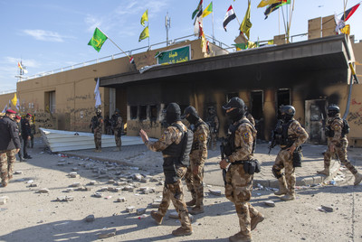 上頭指示尊重政府 親伊朗示威者撤離