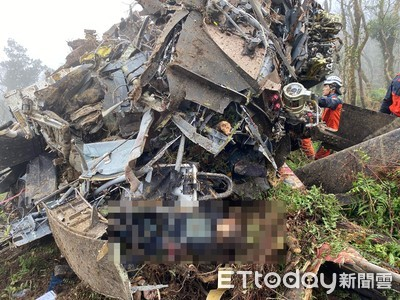 黑鷹墜毀8人罹難 韓國瑜哀悼